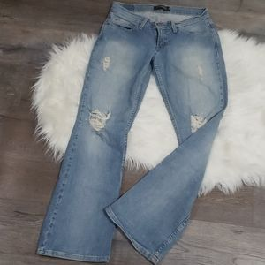 Levi's to Superlow 524 Jean Flares